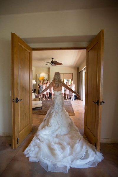 Bridal Party First Look Entrance