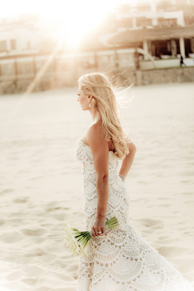 Breathtaking Bride on Beach