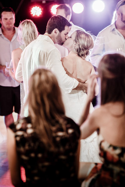 Spontaneous Dance Floor Kiss