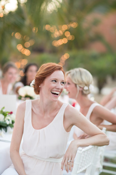 Effortless Destination Wedding Reception