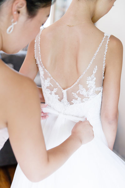 Breathtaking Wedding Dress Lace Details