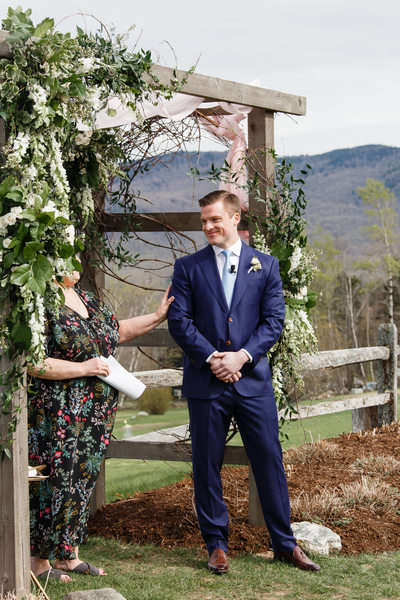 Vermont Custom Suits for Groom