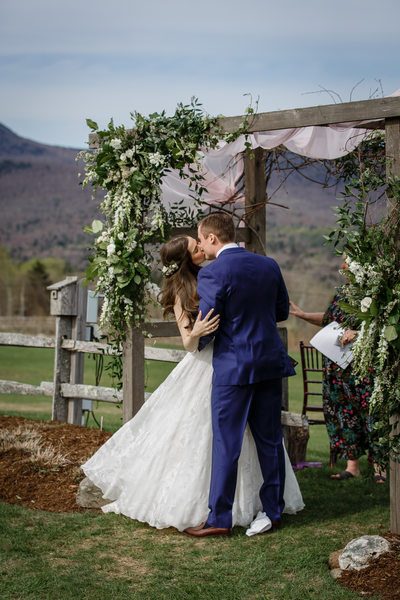 Wedding Venues in Vermont Mountains