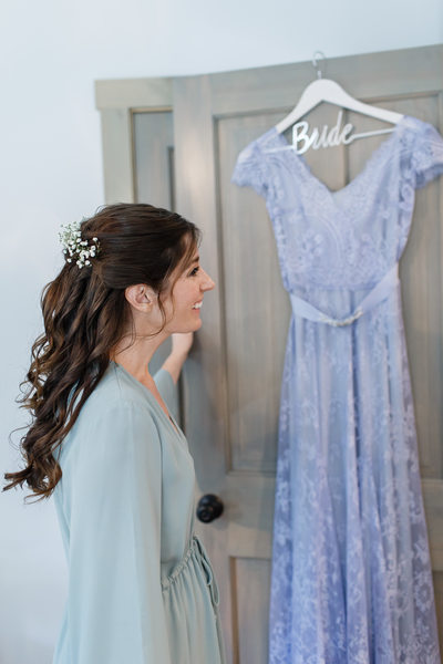Periwinkle Bridal Gown