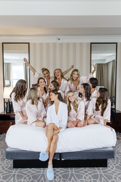 Queen-Sized Bridal Party