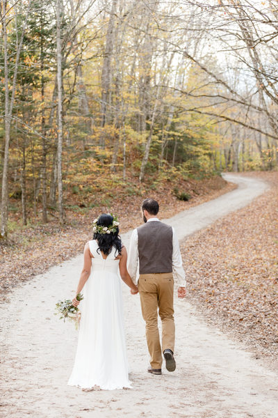 Peak Foliage Times in Vermont for Wedding