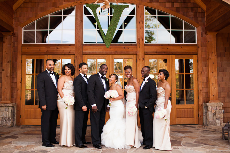 Outdoor Weddings at Foxhall Resort