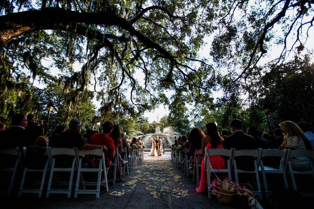 Savannh Wedding Photography Forsyth Park