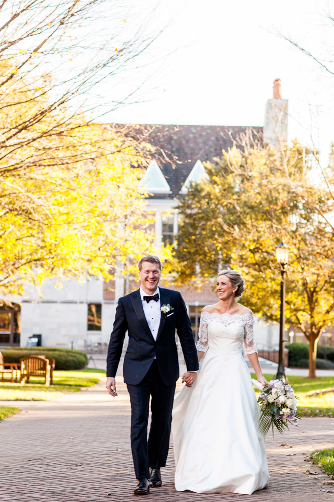 Wedding at Agnes Scott College Decatur