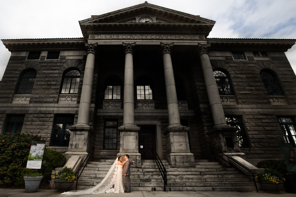 Decatur Historic Courthouse Wedding Photos