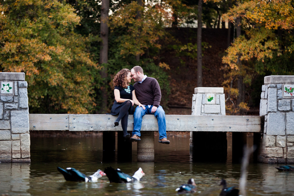Outdoor Lake Pre-wedding Photography Locations Atlanta