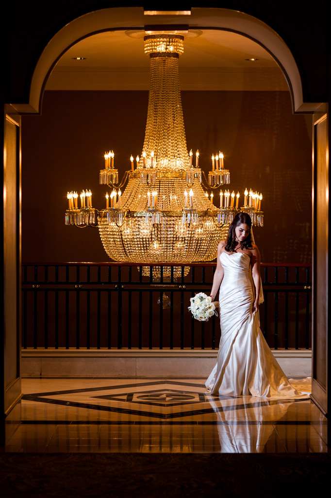Bride Grand Hyatt Hotel Atlanta