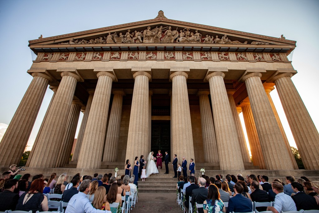Nashville Parthenon Wedding  Photos
