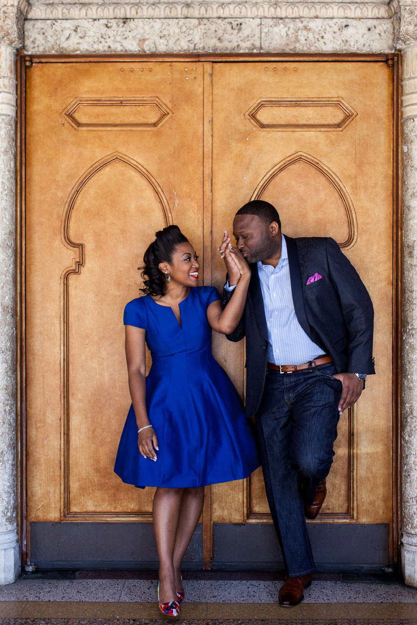 Fox Theater Atlanta Pre-wedding Photography Locations