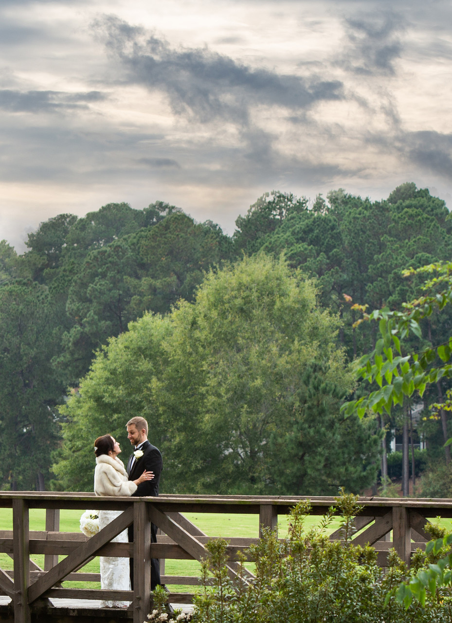 Outdoor Ritz Carlton Lake Oconee Wedding