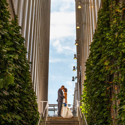 High Museum of Art Atlanta Wedding Photography