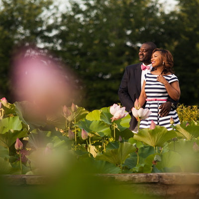 Outdoor Engagement Session Foxhall Resort