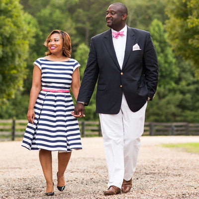 Foxhall Atlanta Outdoor Engagement Photography