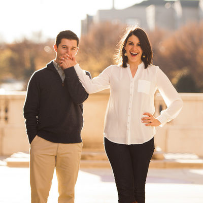 Millennium Gate Atlanta Engagement Session Photography