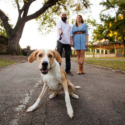 Piedmont Park Pre-wedding Photography