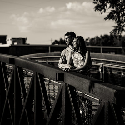 West Provisions Atlanta Pre-wedding Photo Locations