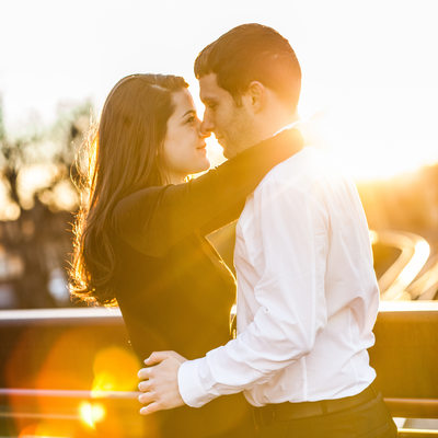 Sunset Proposal Photography Atlanta