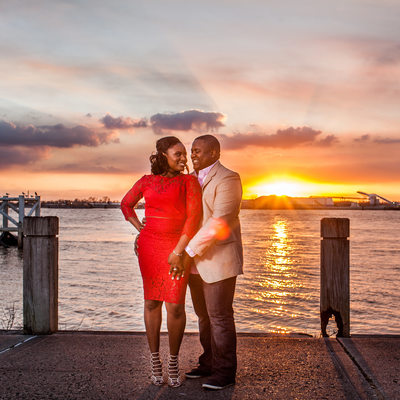 New Orleans Pre-wedding Sunset Photos