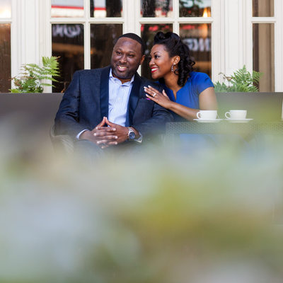 Terrace Engagement Session Locations Atlanta