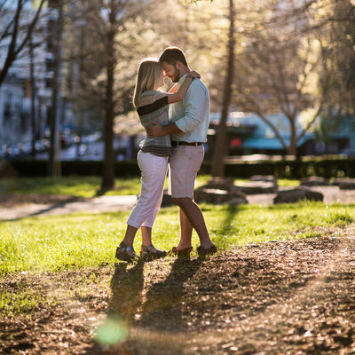 Piedmont Park Outdoor Engagement Session
