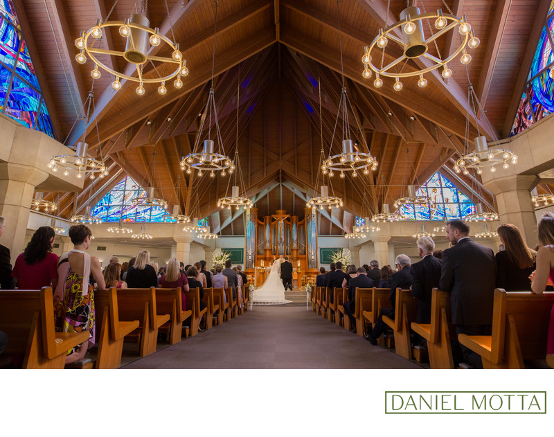 Photo of Wedding Ceremony at St. Rita Church Dallas