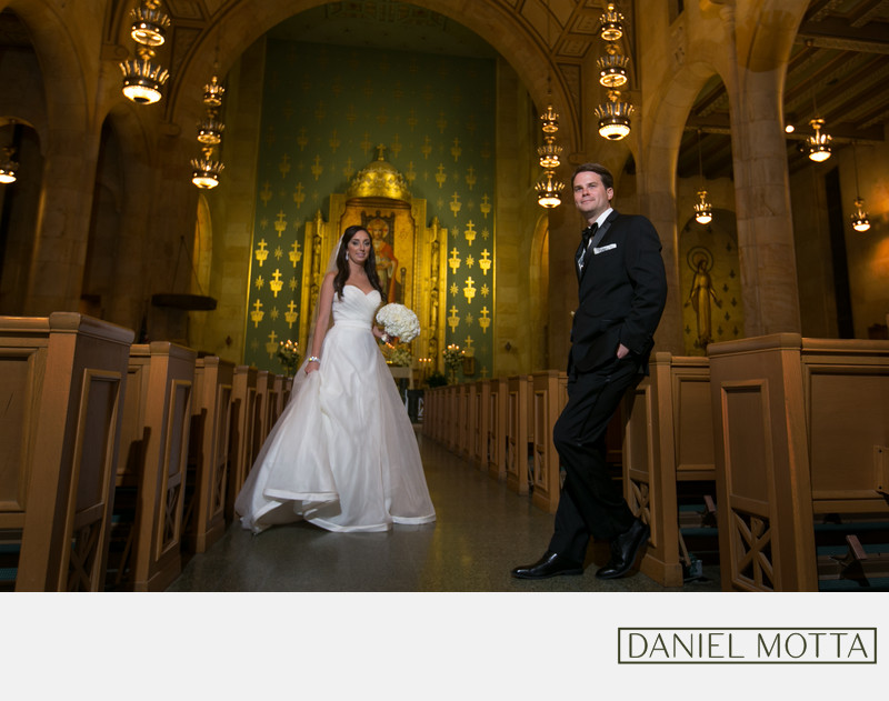 Dallas Wedding Photography at Christ the King