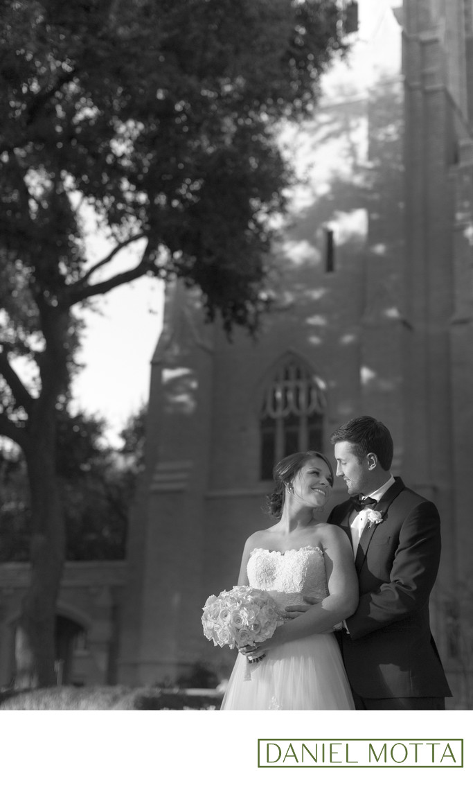 Dallas Wedding Photo at Highland Park United Methodist
