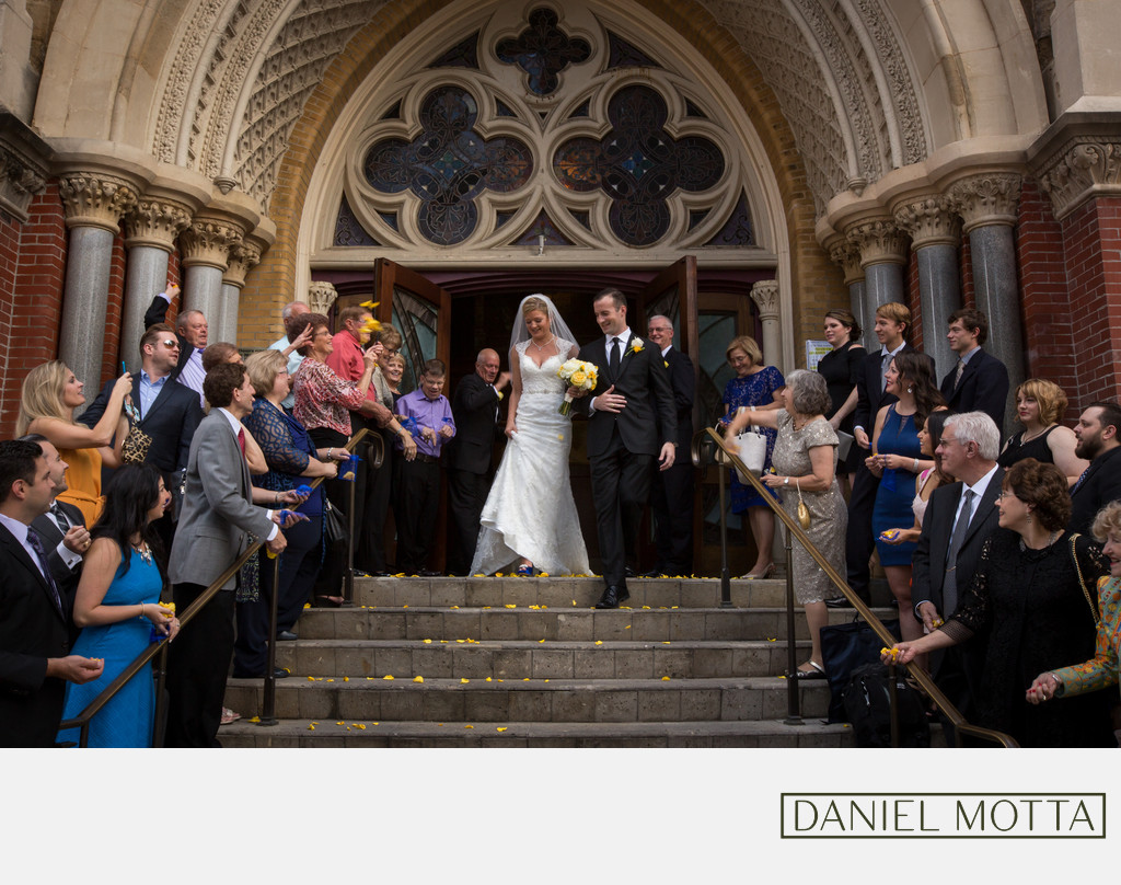Dallas Wedding Photography at Cathedral Santuario
