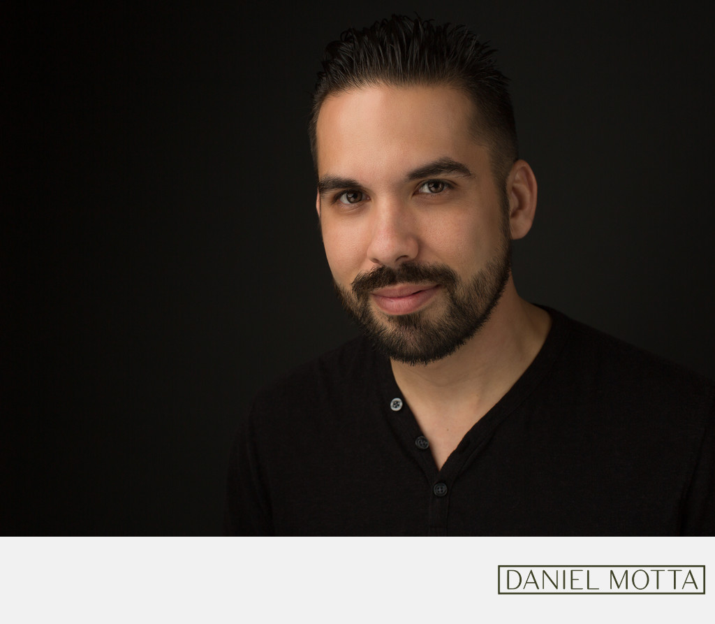 Headshot of Dallas, Plano Photographer Daniel Motta