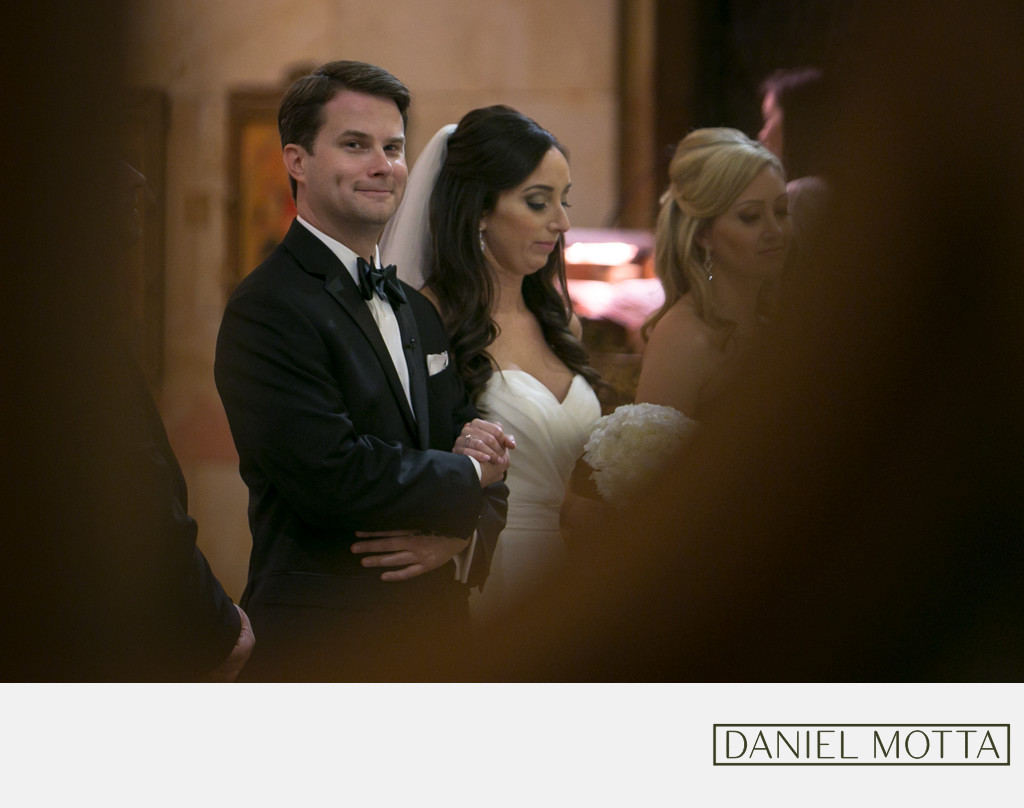 Dallas Catholic Wedding Photographer