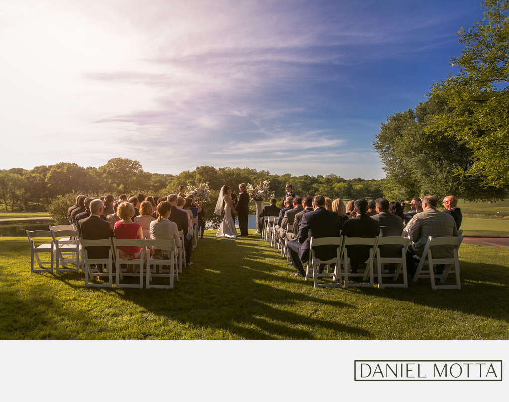 Outdoor Wedding Photography in Plano, Texas
