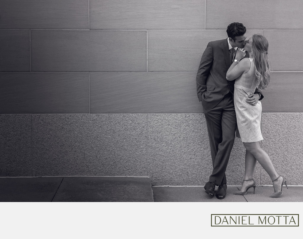 Engagement Photography at AT&T Performing Arts Center