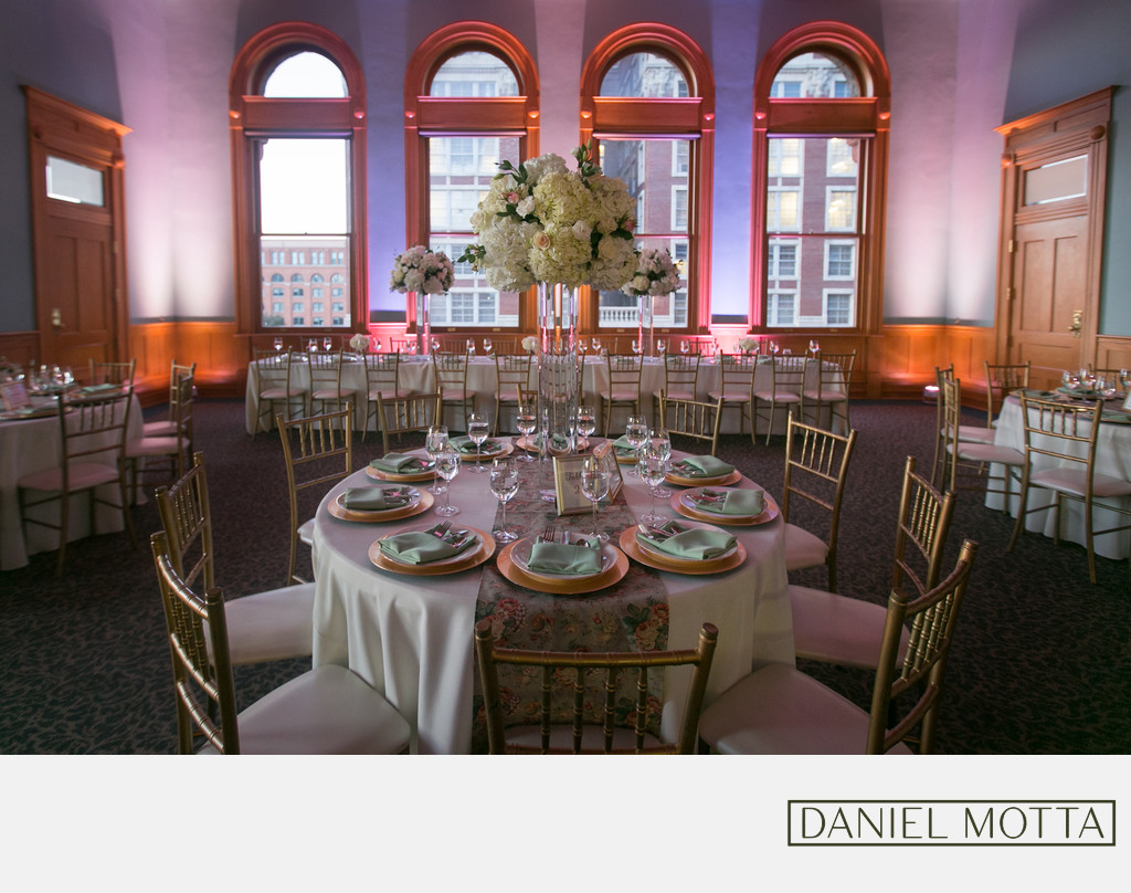 Table Decor Photograph at Old Red Museum Dallas
