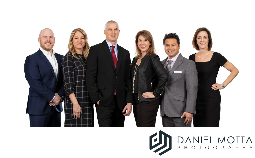 Corporate Group Portraits by Daniel Motta Photography