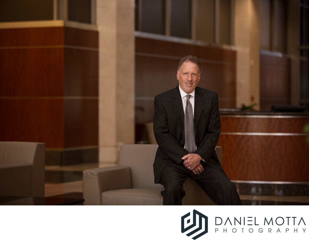Dallas Business Portraits by Daniel Motta Photography