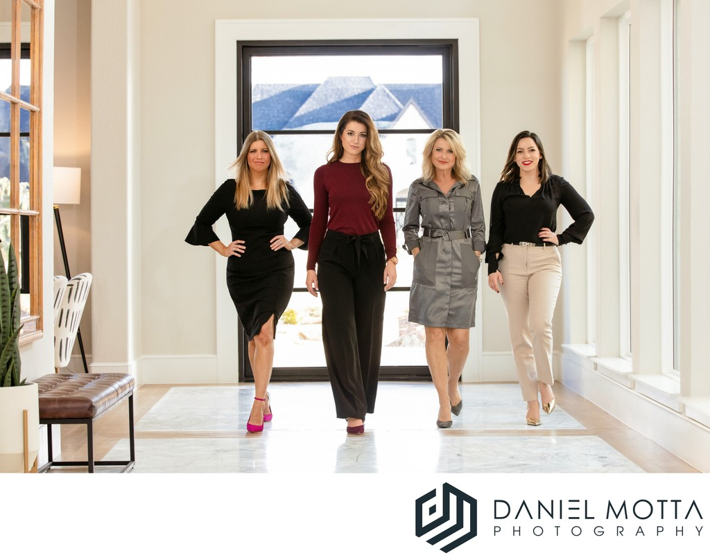 Group Commercial Portrait by Daniel Motta Photography