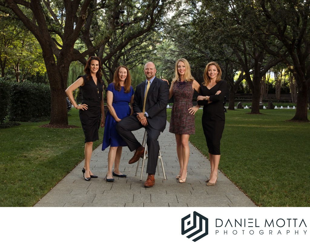 Commercial Group Portrait by Daniel Motta Photography