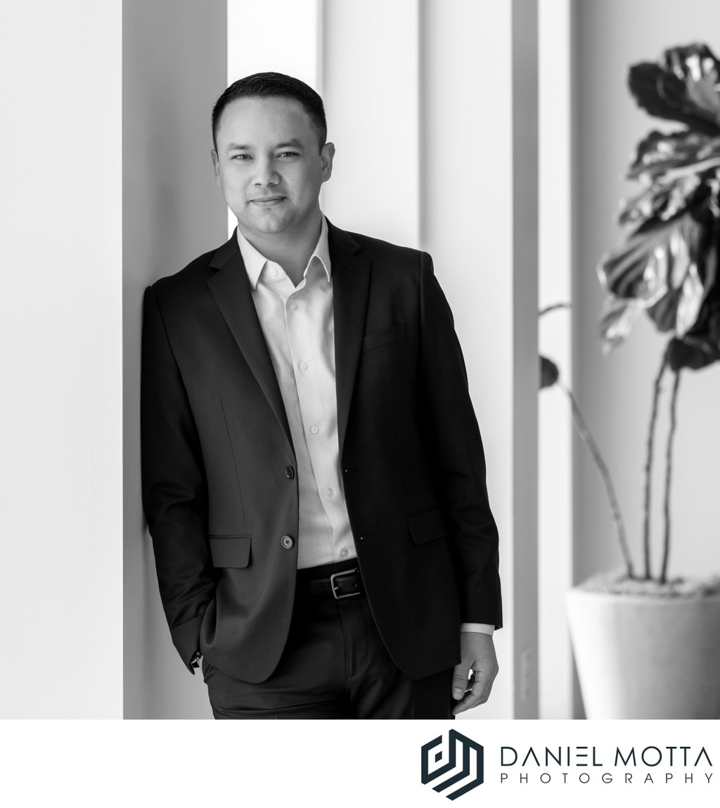 Dallas Business Portrait by Daniel Motta Photography