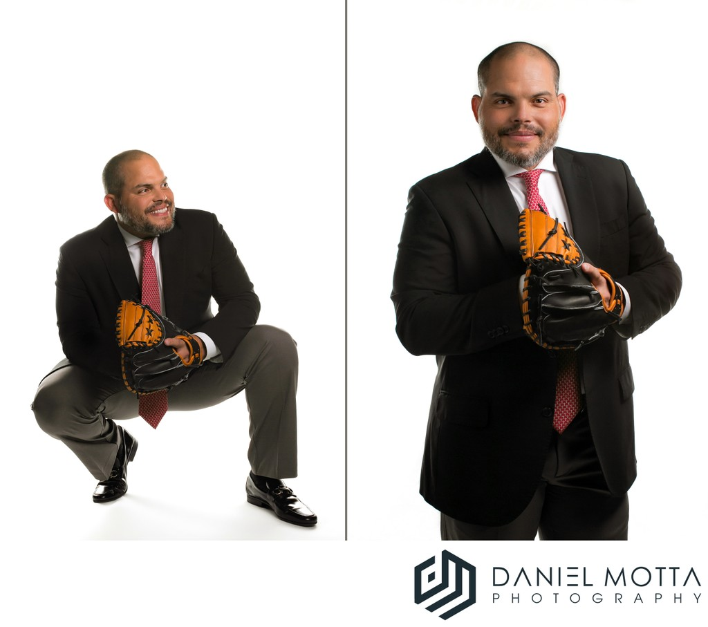 Portrait of Texas Rangers Catcher Pudge Rodriguez