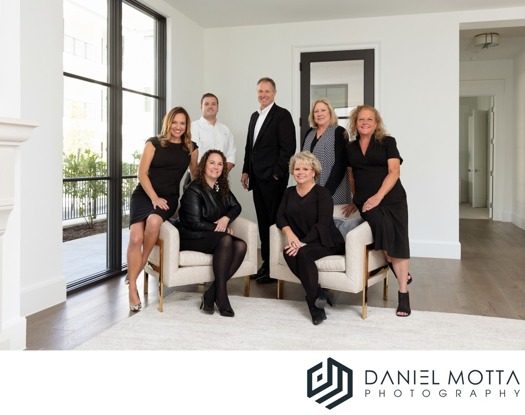 Commercial Group Portraits by Daniel Motta