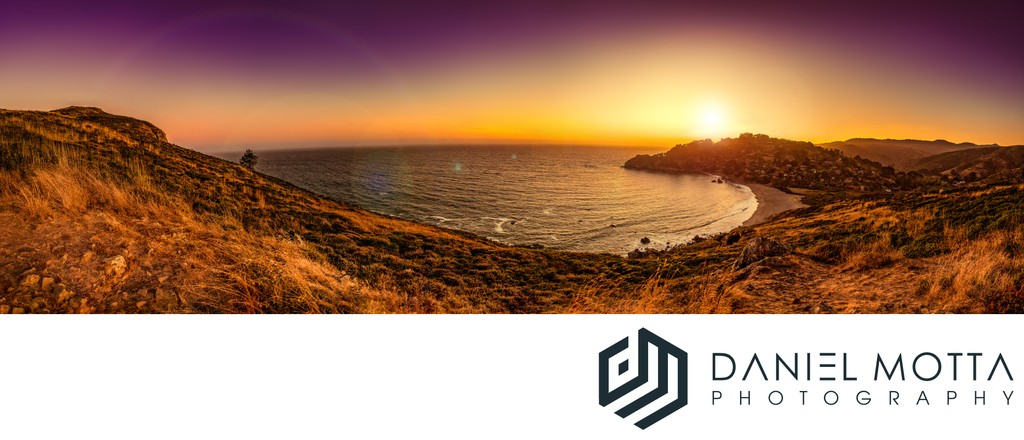Beach Views - Panoramic Photography by Daniel Motta