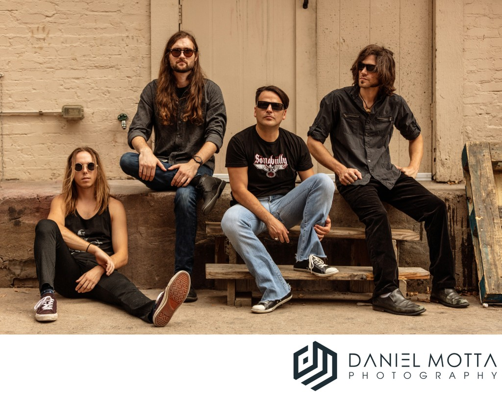 Dallas Band Portraits by Daniel Motta Photography