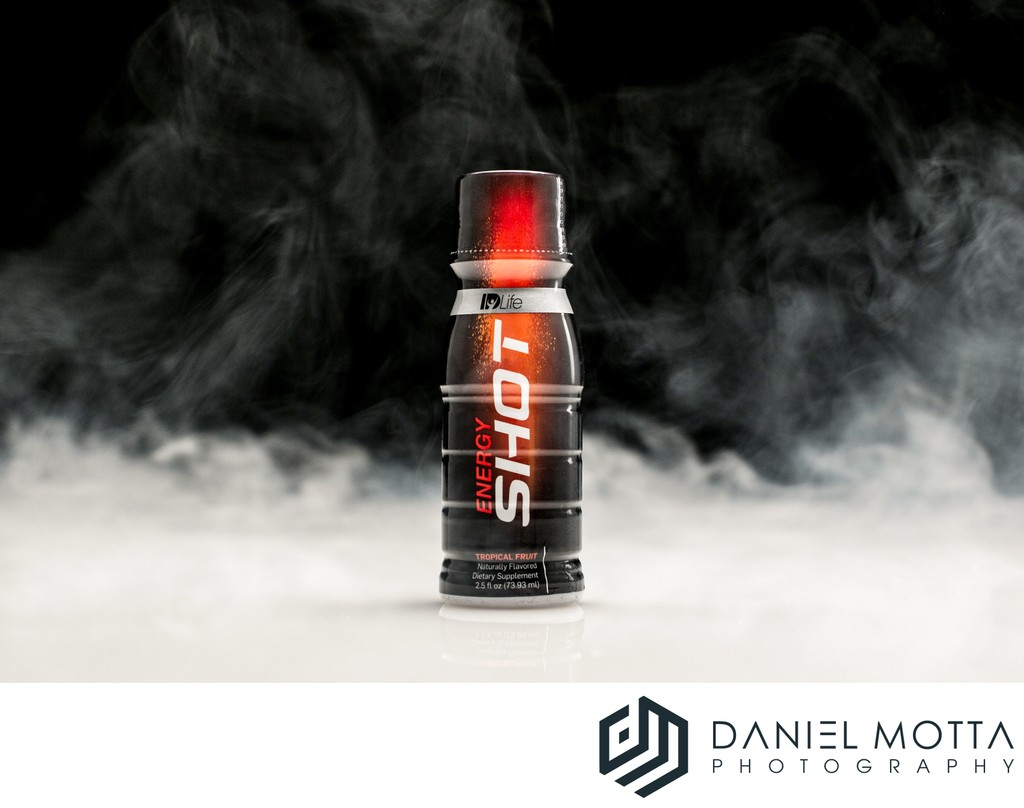 Life Products Energy Shot - Product Photography -  DMP