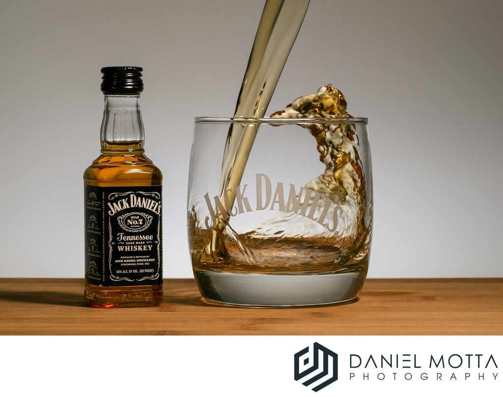 Jack Daniels Product Photography by Daniel Motta