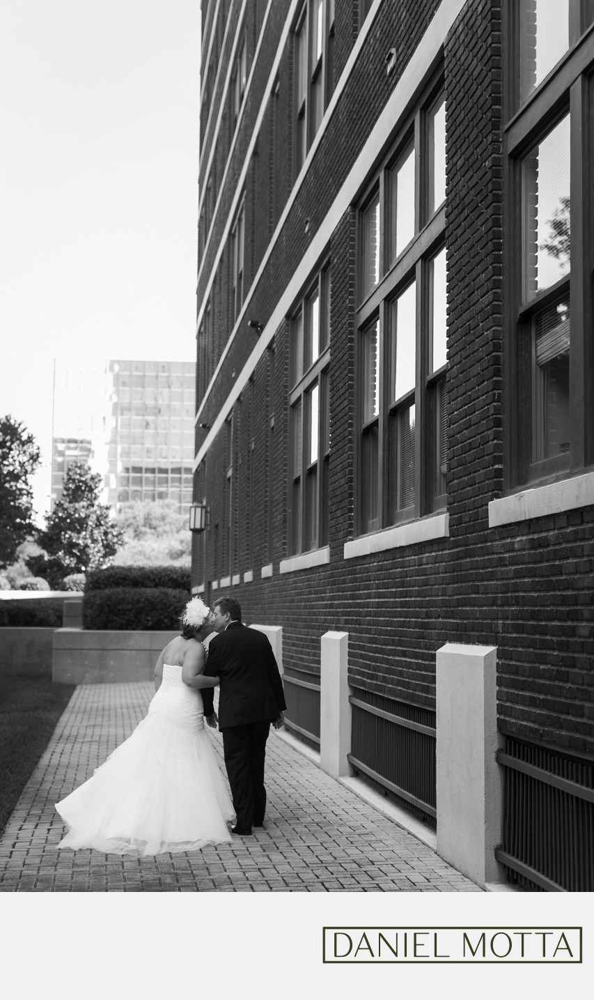 1st Wedding Photo Taken at Higginbotham Building Dallas
